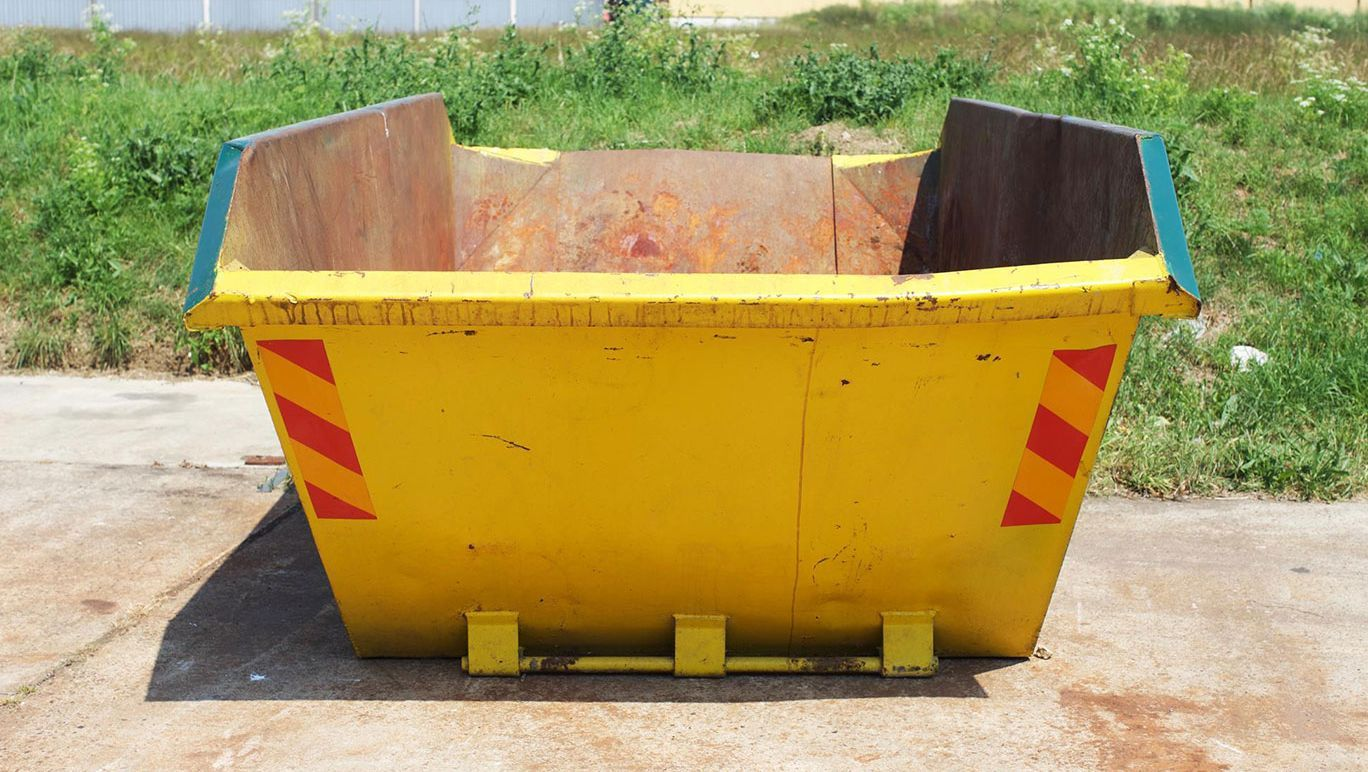 one of our skips waiting to be hired